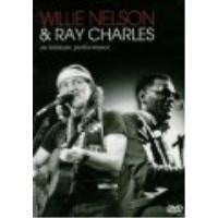NELSON WILLIE & RAY CHARLES-AN INTIMATE PERFORMANCE DVD VG