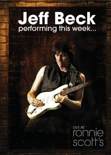 BECK JEFF-PERFORMING THIS WEEK LIVE AT RONNIE SCOTTS DVD VG