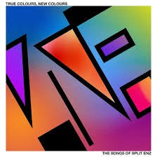 TRUE COLOURS, NEW COLOURS THE SONGS OF SPLIT ENZ-VARIOUS ARTISTS PINK VINYL LP *NEW*