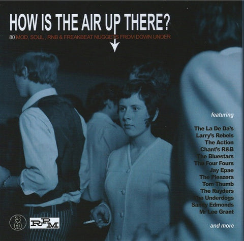 """HOW IS THE AIR UP THERE?""-VARIOUS ARTISTS 3CD VG"