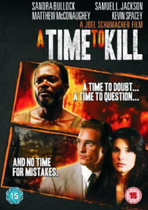 A TIME TO KILL REGION TWO DVD