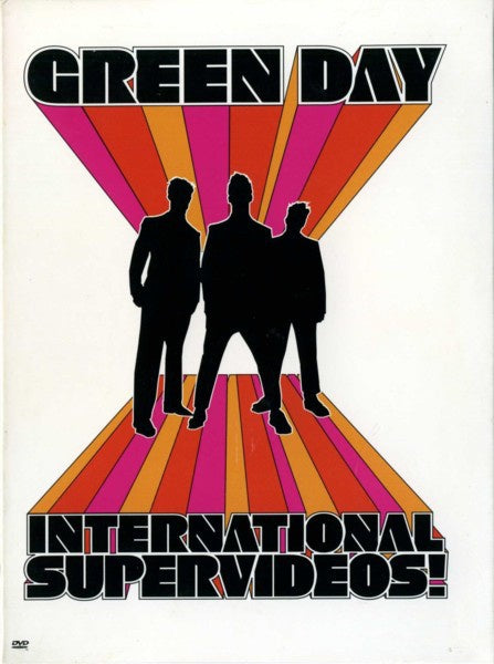 GREEN DAY-INTERNATIONAL SUPER VIDEOS DVD VG