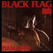 BLACK FLAG-DAMAGED CD VG
