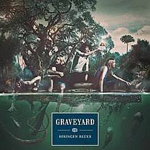 GRAVEYARD-HISINGEN BLUES GREEN/ BEIGE VINYL LP NM COVER NM