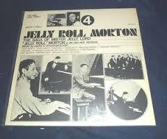MORTON JELLY ROLL-SAGA OF MISTER JELLY LORD 4 LP VGPLUS COVER VG