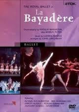 BALLET LA BAYADERE-THE ROYAL BALLET DVD *NEW*