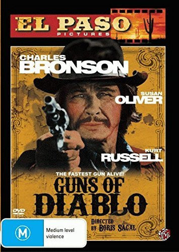 GUNS OF DIABLO DVD VG