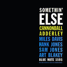 ADDERLEY CANNONBALL-SOMETHIN' ELSE LP VG+ COVER VG
