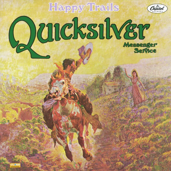 QUICKSILVER MESSENGER SERVICE-HAPPY TRAILS CD VG