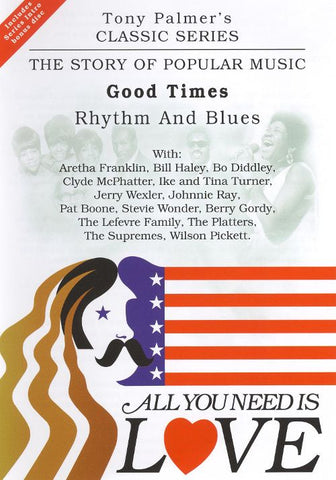 ALL YOU NEED IS LOVE VOL.9-GOOD TIMES : RHYTHM & BLUES 2DVD VG