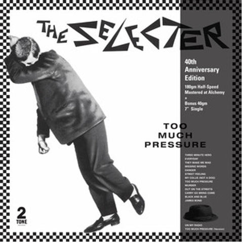 SELECTER THE-TOO MUCH PRESSURE 40TH ANNIVERSARY  CLEAR VINYL  EDITION*NEW*