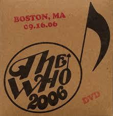 WHO THE-BOSTON 9/16/05 DVD *NEW*