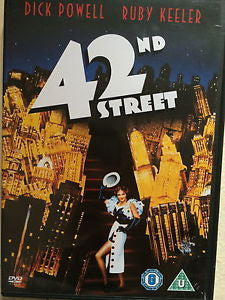 42ND STREET DVD REGION 2 VG