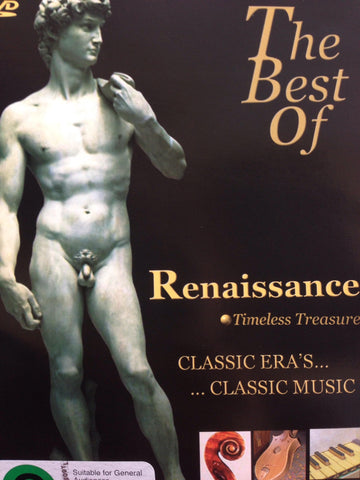 THE BEST OF RENAISSANCE TIMELESS TREASURE DVD VG