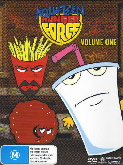 AQUA TEEN HUNGER FORCE VOLUME ONE 2DVD VG