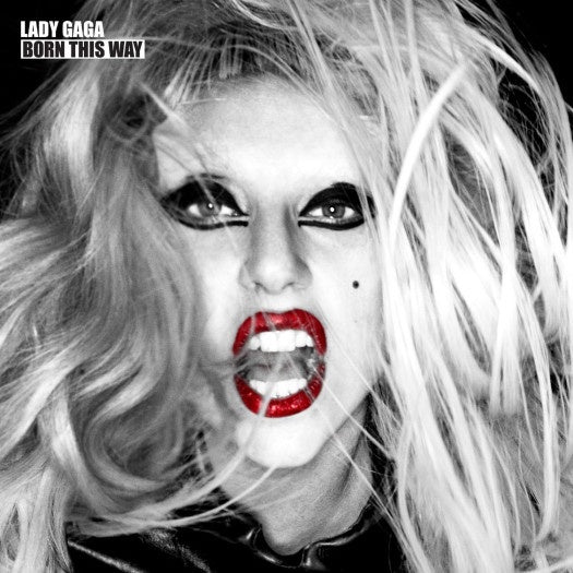 LADY GAGA-BORN THIS WAY 2CD VG