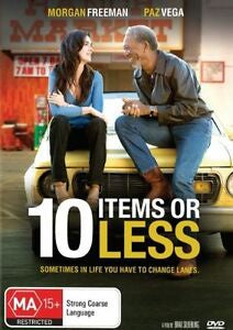 10 ITEMS OR LESS DVD VG
