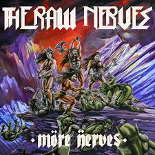 RAW NERVES - MORE NERVES LP *NEW*