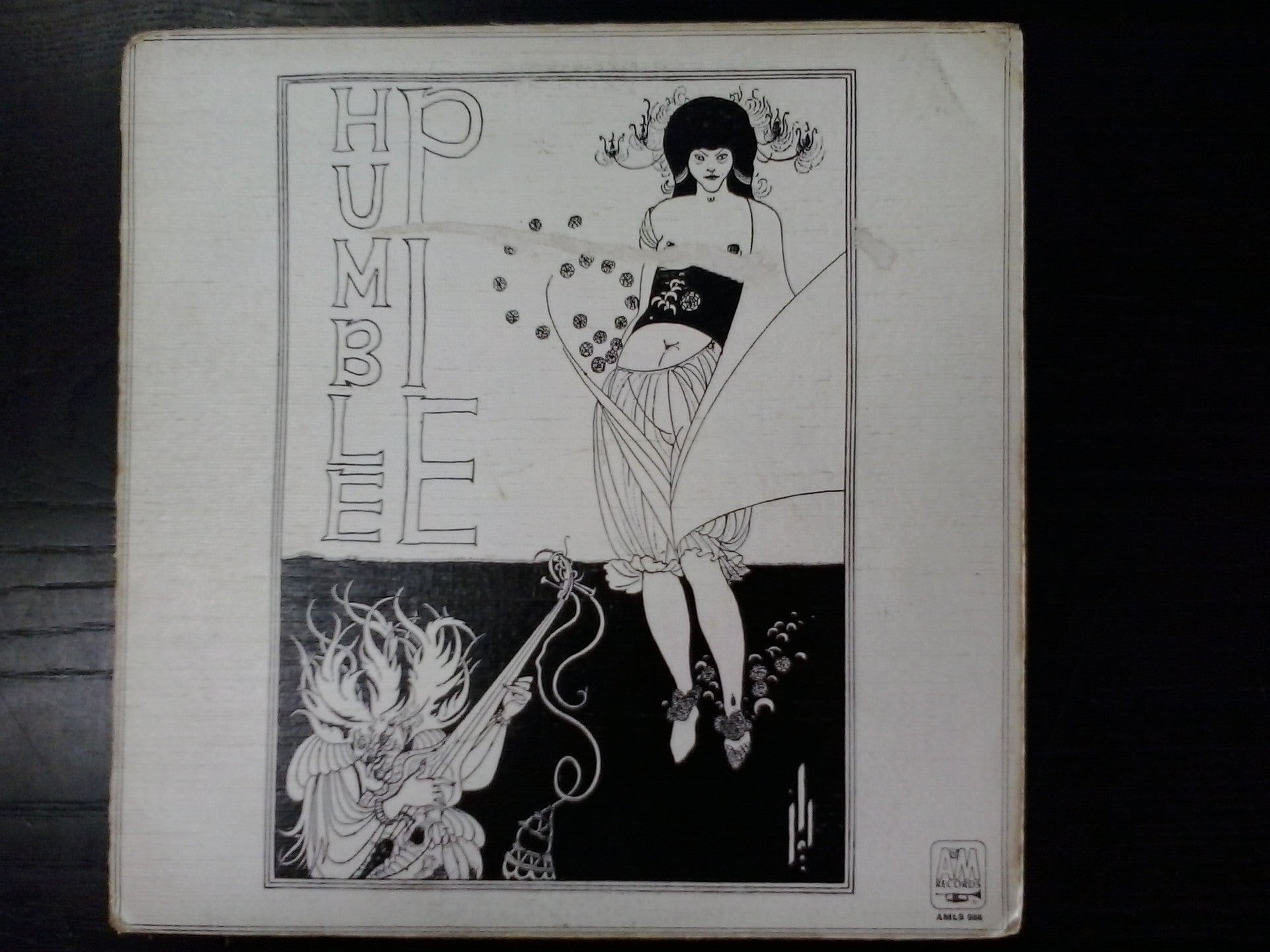 HUMBLE PIE-HUMBLE PIE LP VG COVER G