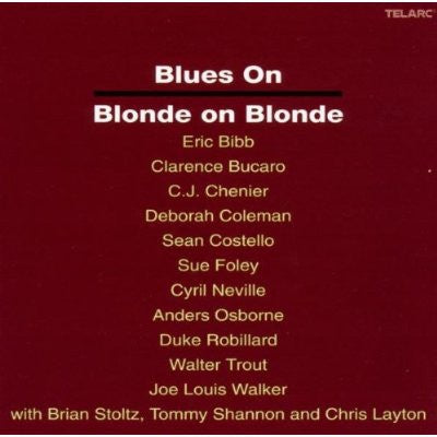 BLUES ON BLONDE ON BLONDE-VARIOUS ARTISTS CD VG
