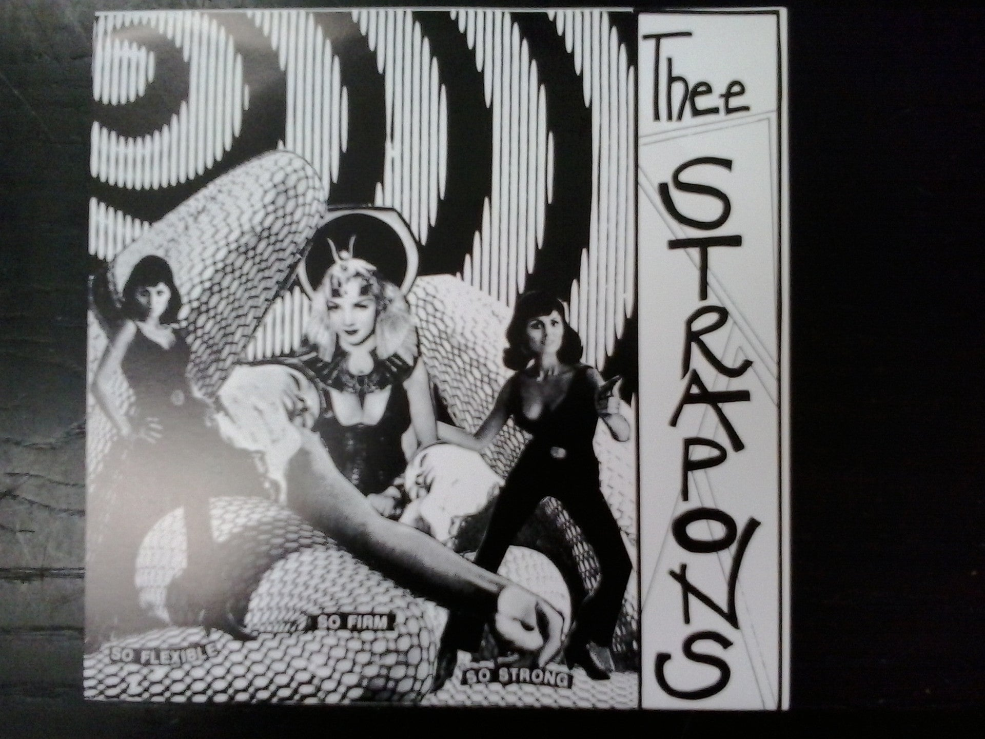 STRAP ONS THEE-GREEN MAN 7INCH *NEW*