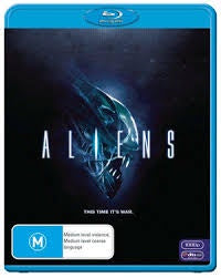 ALIENS FILM BLURAY VG