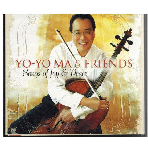 MA YO-YO AND FRIENDS-SONGS OF JOY AND PEACE CD VG