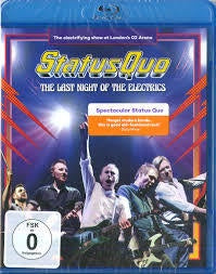 STATUS QUO-THE LAST NIGHT OF THE ELECTRICS BLURAY *NEW*