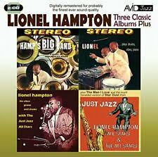 HAMPTON LIONEL- THREE CLASSIC ALBUMS PLUS 2CD *NEW*
