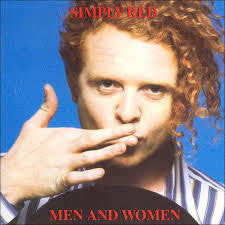 SIMPLY RED-MEN AND WOMEN LP NM COVER VG+