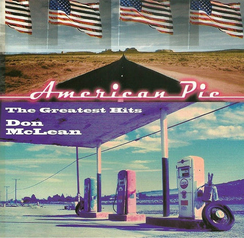 MCLEAN DON-AMERICAN PIE THE GREATEST HITS CD VG