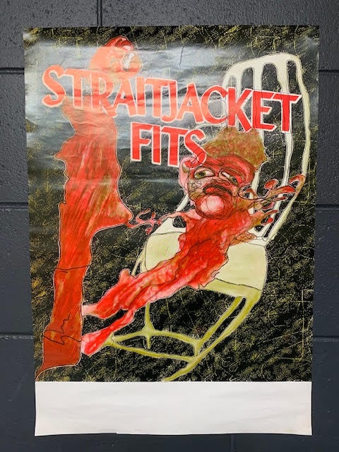 STRAITJACKET FITS -ORIGINAL TOUR POSTER  UNASSIGNED VENUE