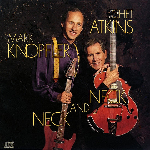 ATKINS CHET & MARK KNOPFLER-NECK AND NECK CD VG