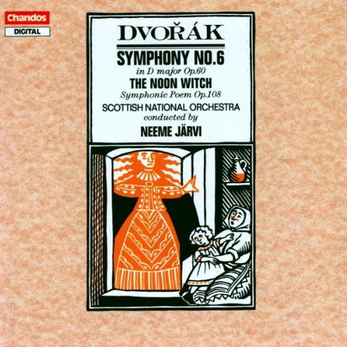 DVORAK-SYMPHONY NO 6 IN D MAJOR / THE NOON WITCH CD VG+