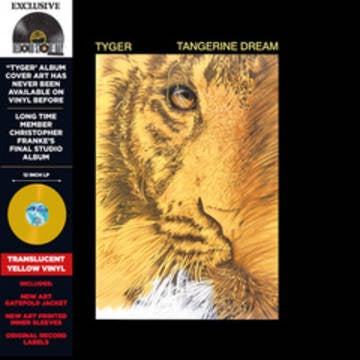 TANGERINE DREAM-TYGER YELLOW VINYL LP *NEW*