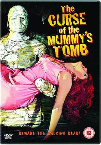 CURSE OF THE MUMMY'S TOMB REGION TWO DVD VG