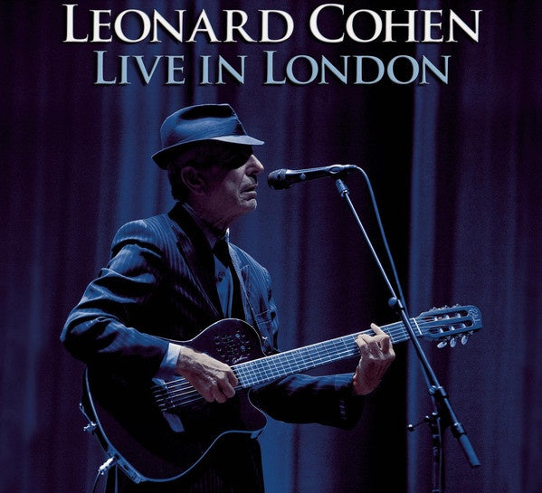 COHEN LEONARD-LIVE IN LONDON 2CD VG