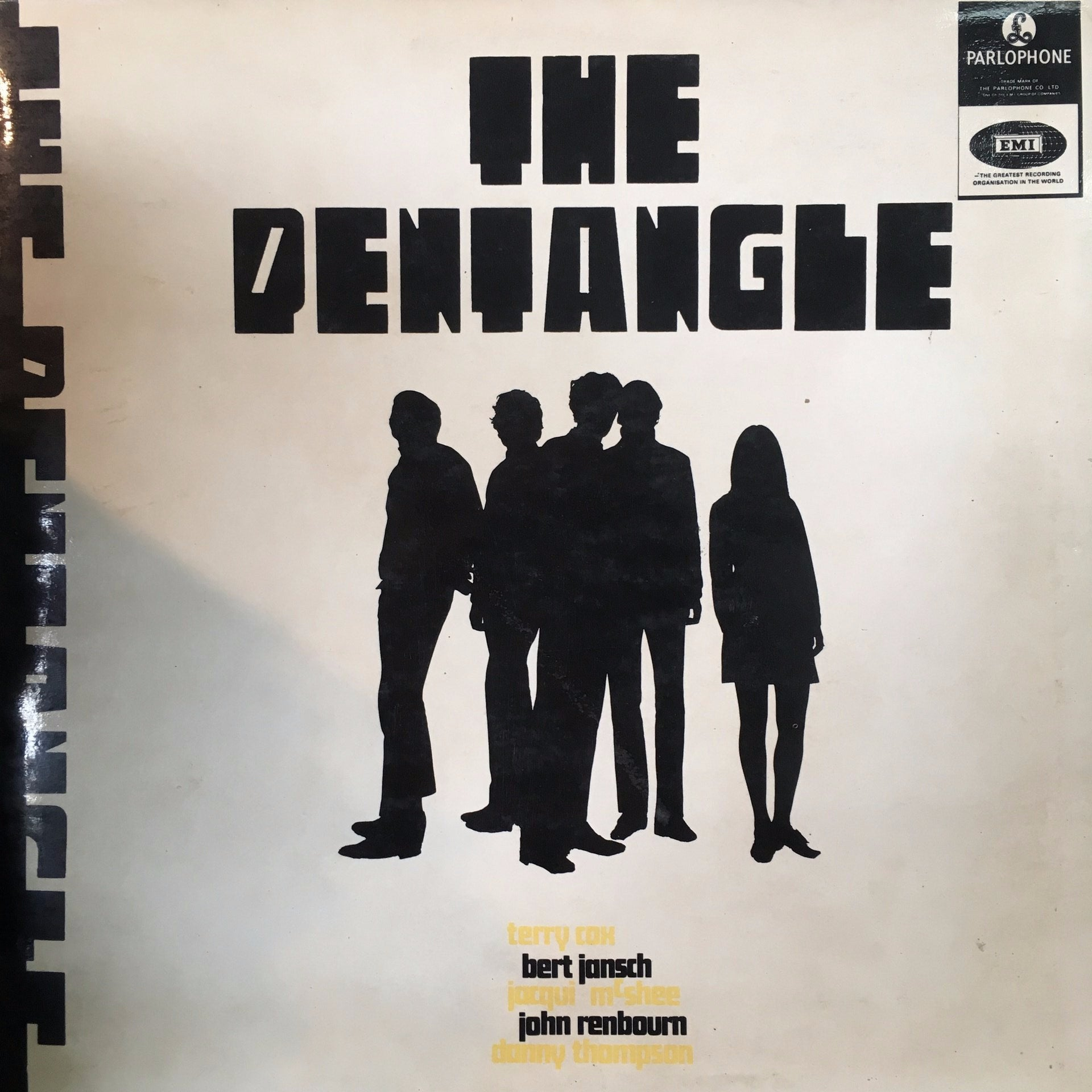 PENTANGLE THE-THE PENTANGLE LP VG COVER VG+