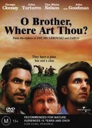 O BROTHER WHERE ART THOU? DVD VG