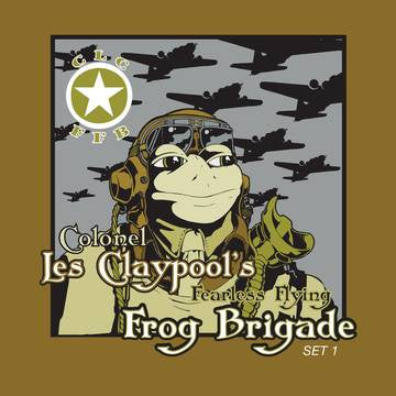 CLAYPOOL LES-COLONEL LES CLAYPOOL'S FEARLESS FLYING FROG BRIGADE LIVE FROGS SETS 1&2 3LP *NEW*
