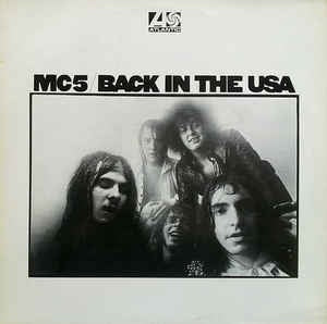 MC5-BACK IN THE USA LP NM COVER VG+