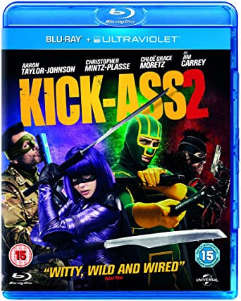 KICK ASS 2R16 BLURAY VG+