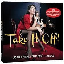TAKE IT OFF-VARIOUS ARTISTS 2CD *NEW*