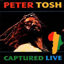 TOSH PETER-CAPTURED LIVE LP NM COVER VG+