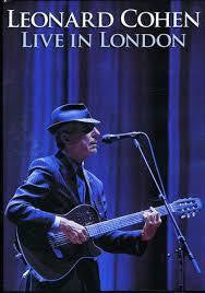 COHEN LEONARD-LIVE IN LONDON DVD *NEW*