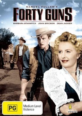 FORTY GUNS DVD VG