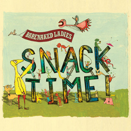 BARENAKED LADIES-SNACKTIME! CD VG+