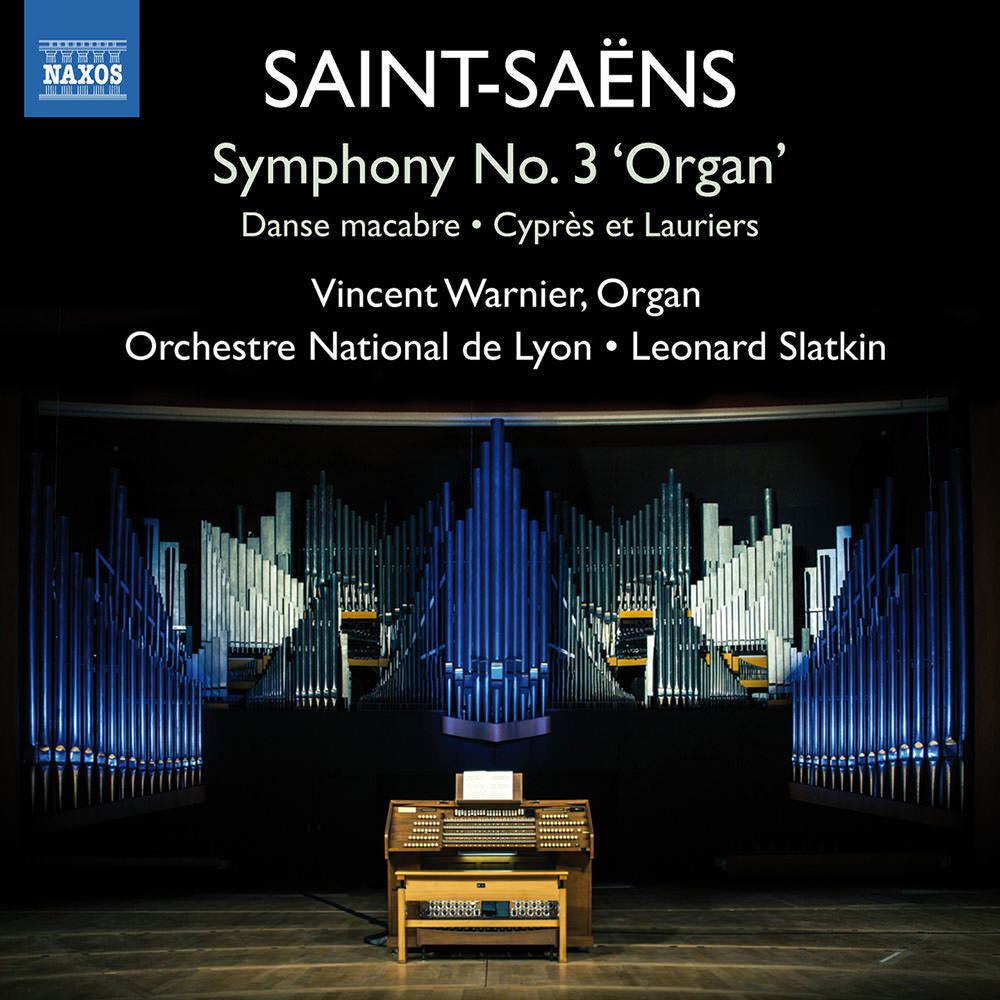 SAINT-SAENS-SYMPHONY NO 3 ORGAN VINCENT WARNIER CD *NEW*