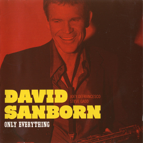 SANBORN DAVID-ONLY EVERYTHING CD VG
