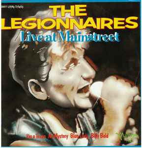 LEGIONNAIRES/ DANCE EXPONENTS-LIVE AT MAINSTREET LP VG COVER VG+